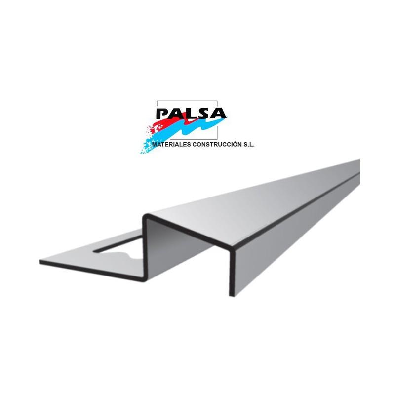 Perfil transicion acero inoxidable nivel 2 palsa - Perfil acero inoxidable precio ...